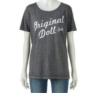 "Tops - Barbie "" original doll"" graphic tee"